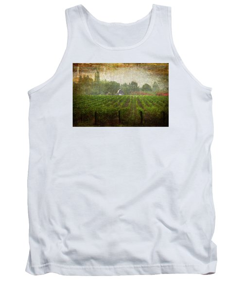 Cultivating A Chardonnay Tank Top