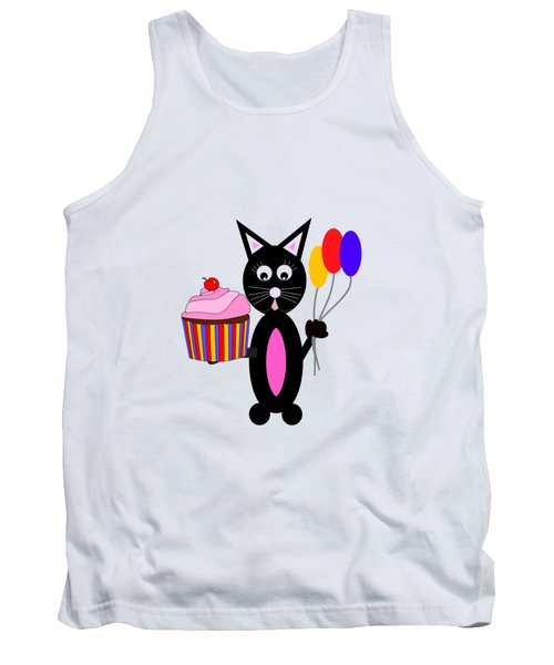 Cup Cake Party Tank Top by Kathleen Sartoris