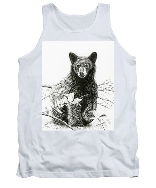 Curious Young Bear Tank Top