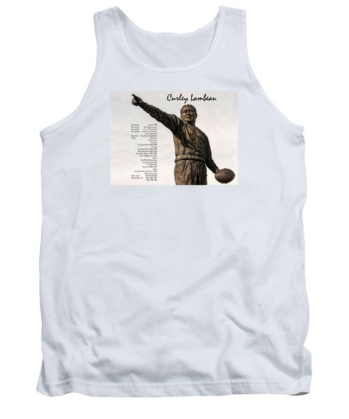 Tank Top featuring the photograph Curley Lambeau by Trey Foerster