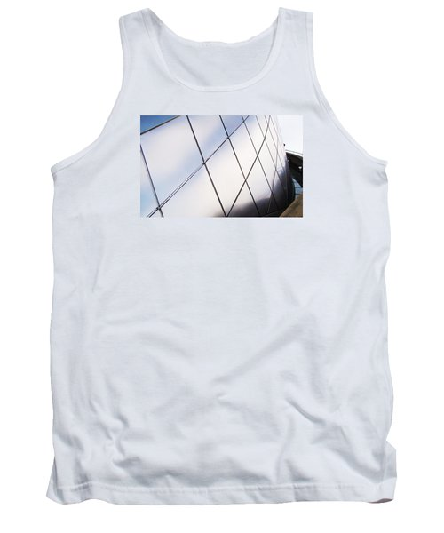 Curve Of The Cone Tank Top by Martin Cline