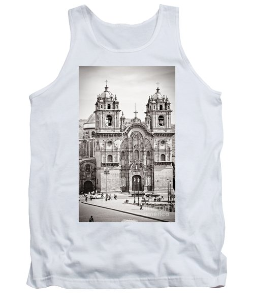 Cusco Cathedral Tank Top by Darcy Michaelchuk