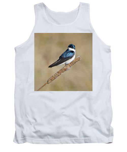 Tank Top featuring the photograph Cushy Perch by Stephen Flint