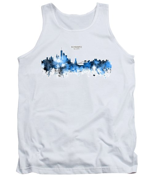 Custom New York Skyline Tank Top