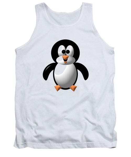 Cute Pengie The Penguin  Tank Top