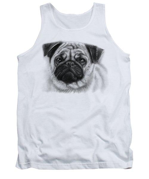 Cute Pug Tank Top