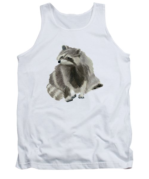 Cute Raccoon Tank Top