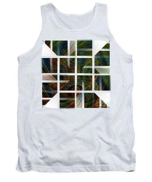 Cutting Life Tank Top by Thibault Toussaint
