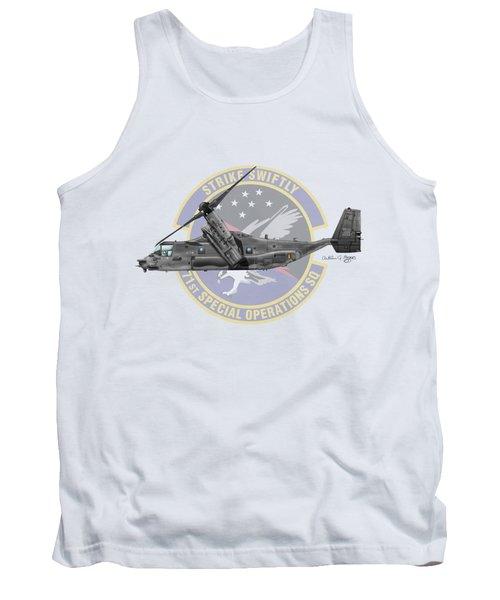 Cv-22b Osprey 71sos Tank Top