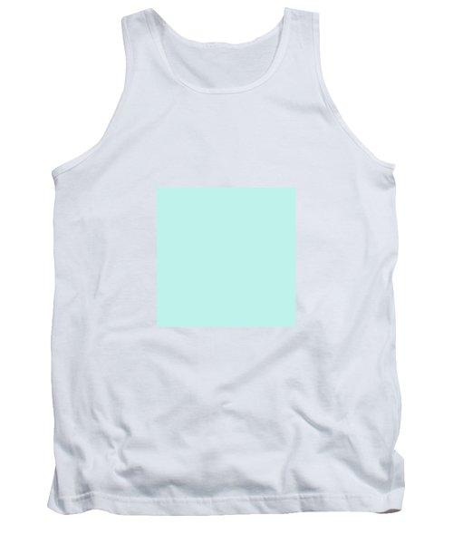 Cyan Ultra Soft Pastels Colour Palette Tank Top