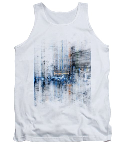 Cyber City Design Tank Top by Martin Capek