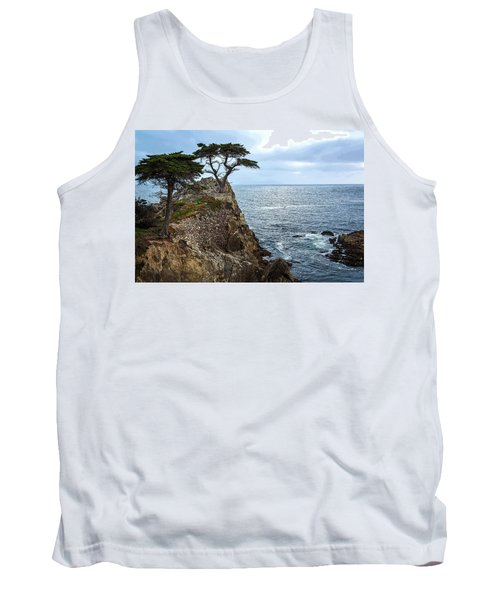 Cypress Tree On The Point Tank Top