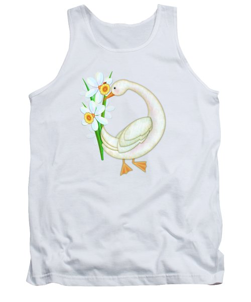 D Is For Duck And Daffodils Tank Top