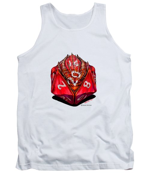D20 Dragon T Shirt Tank Top