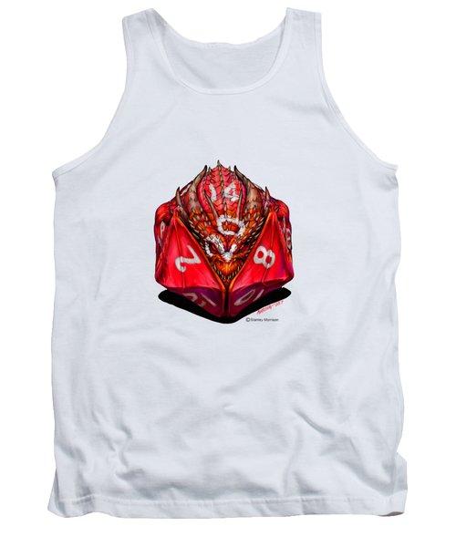 D20 Dragon T Shirt Tank Top