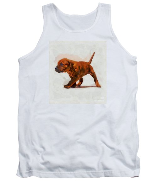 Tank Top featuring the photograph Daddies Girl by John  Kolenberg
