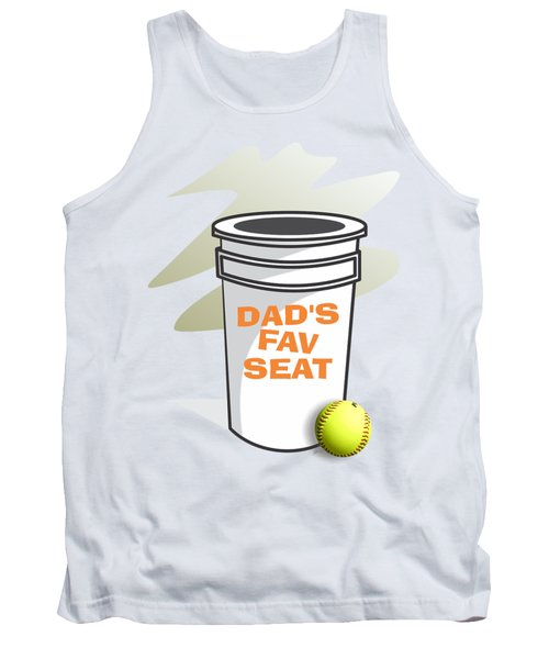 Dad's Fav Seat Tank Top by Jerry Watkins