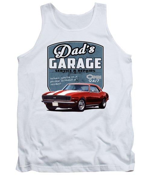 Dad's Garage-1968 Camaro Tank Top