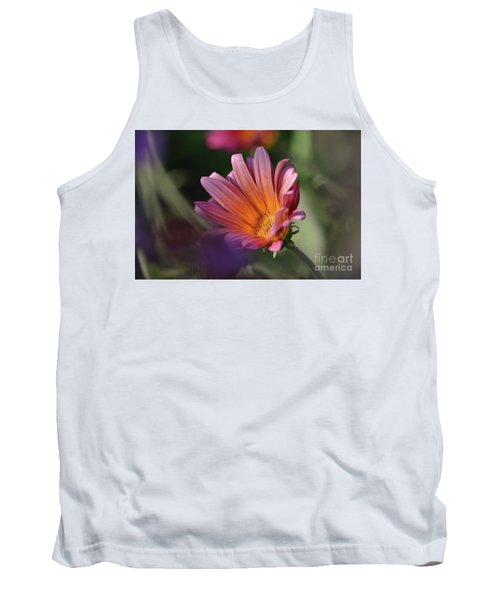 Tank Top featuring the photograph Daisy At Dusk by Debby Pueschel