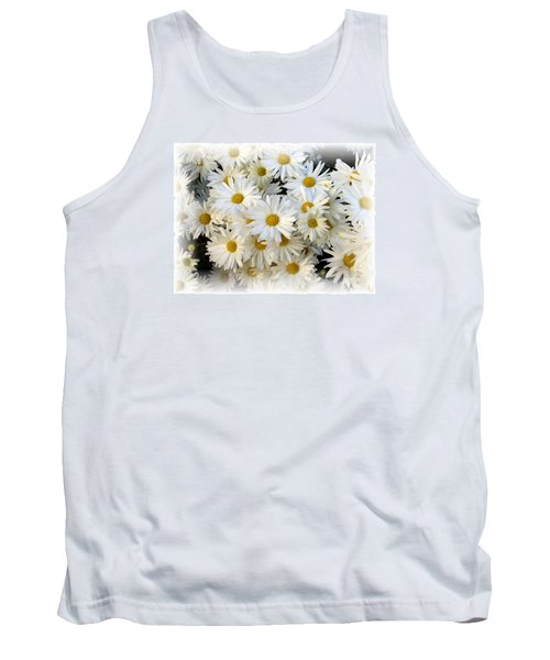 Daisy Bouquet Tank Top by Carol Sweetwood