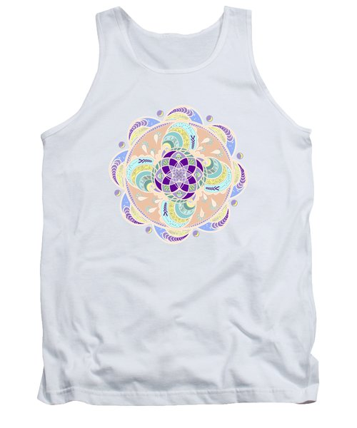 Daisy Lotus Meditation Tank Top
