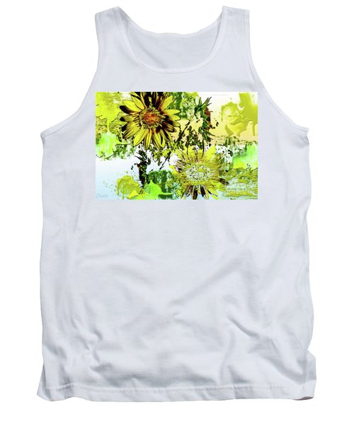 Sunflower On Water Tank Top