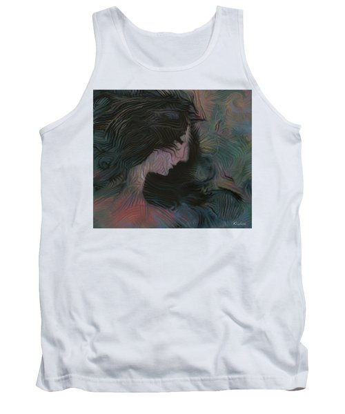 Tank Top featuring the painting Dakota by David Klaboe