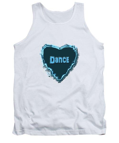 Tank Top featuring the digital art Dance by Linda Prewer