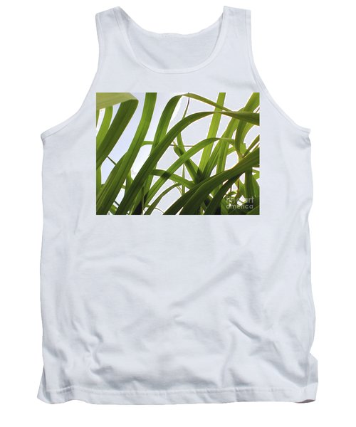 Tank Top featuring the photograph Dancing Bamboo by Rebecca Harman