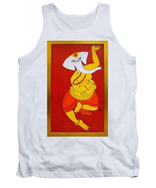 Dancing Ganesha Tank Top