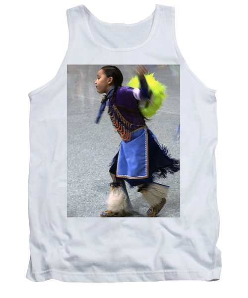 Dancing Native Child Tank Top