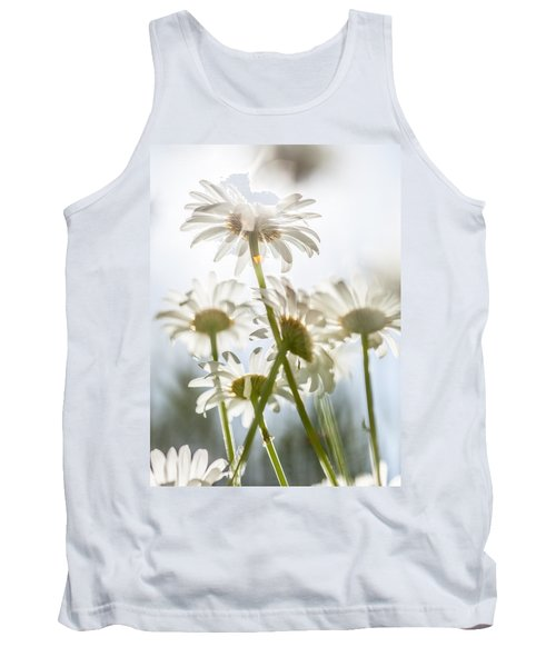 Tank Top featuring the photograph Dancing With Daisies by Aaron Aldrich