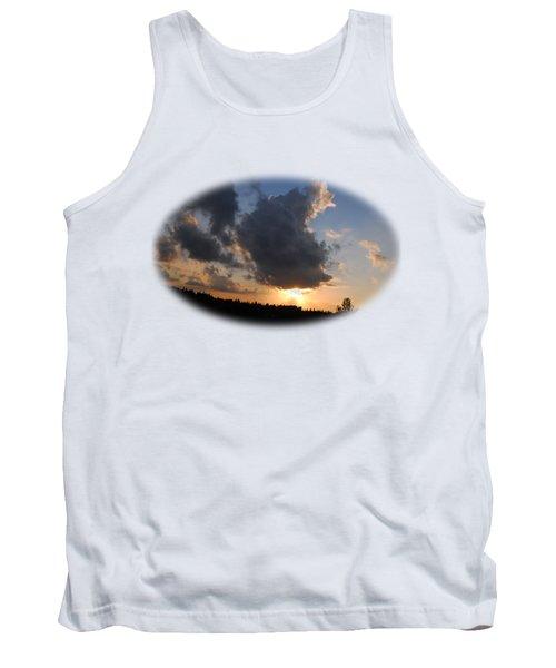 Dark Sunset T-shirt Tank Top