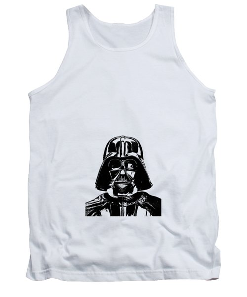 Darth Vader Painting Tank Top