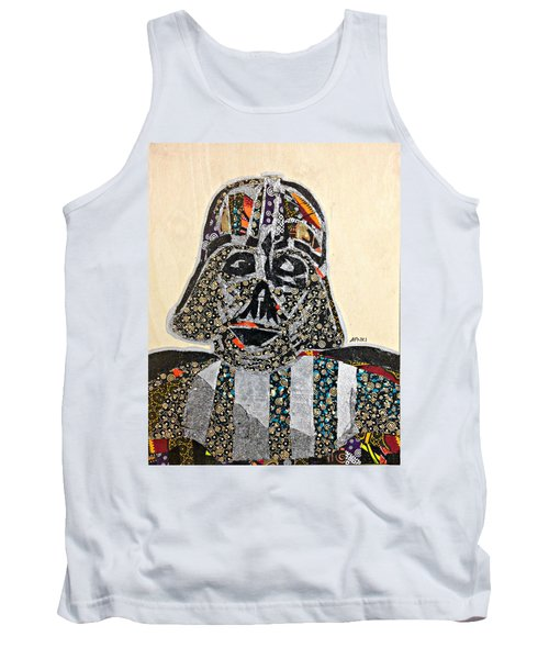 Tank Top featuring the tapestry - textile Darth Vader Star Wars Afrofuturist Collection by Apanaki Temitayo M