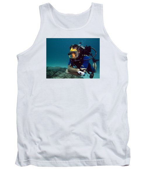 Dave In The Mask Tank Top