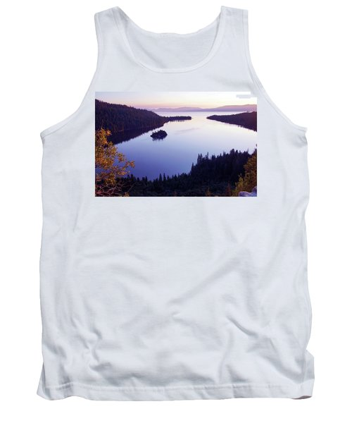 Dawn At Emerald Bay, Lake Tahoe Tank Top