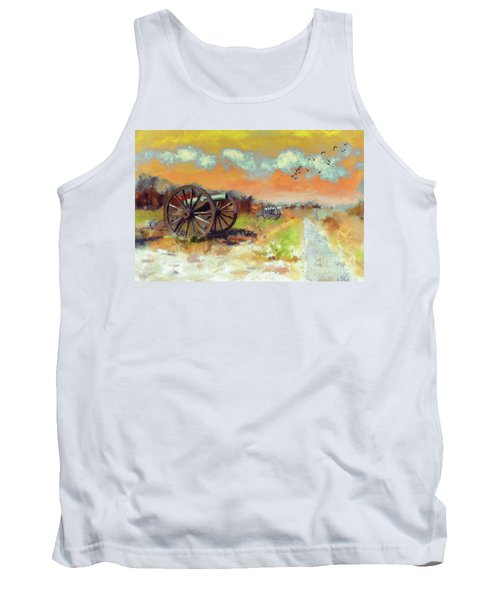 Tank Top featuring the photograph Days Of Discontent by Lois Bryan
