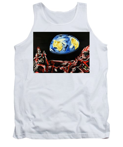 Death By Starlight Tank Top by Ryan Demaree
