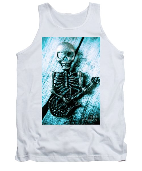 Death Metal Blues Tank Top
