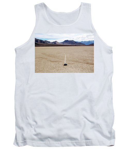 Death Valley Racetrack Tank Top