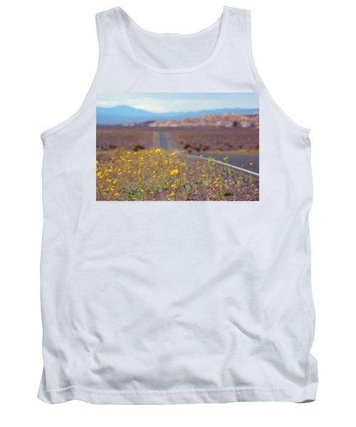 Death Valley Superbloom 101 Tank Top by Daniel Woodrum