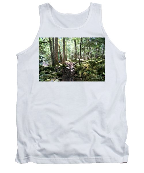 Deep In The Oregon Forest Tank Top