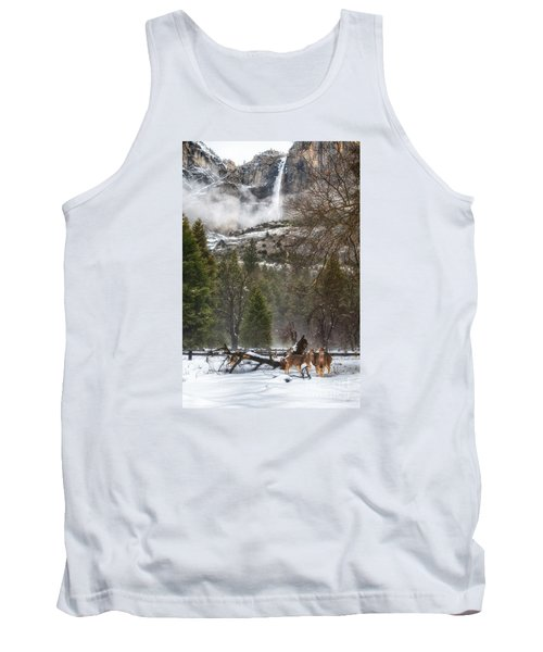 Deer Of Winter Tank Top