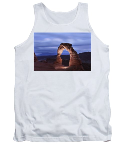 Delicate Arch At Twilight Tank Top