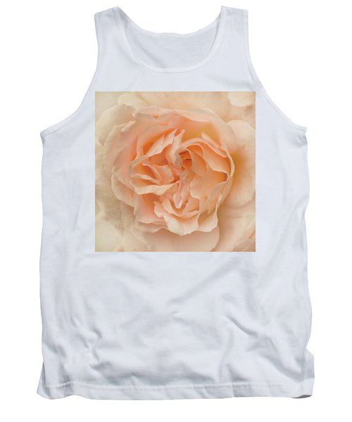 Tank Top featuring the photograph Delicate Rose by Jacqi Elmslie