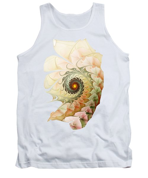 Delicate Wave Tank Top