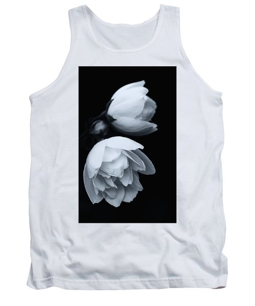 Delicate White Surprise Tank Top