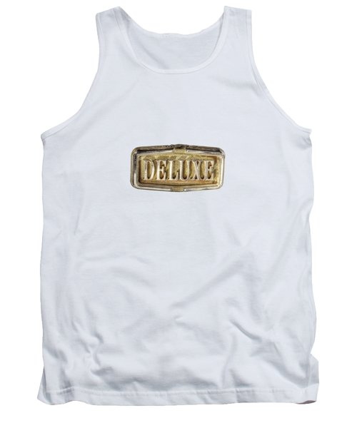 Deluxe Chrome Emblem Tank Top by YoPedro
