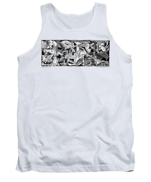 Democrat Guernica Tank Top